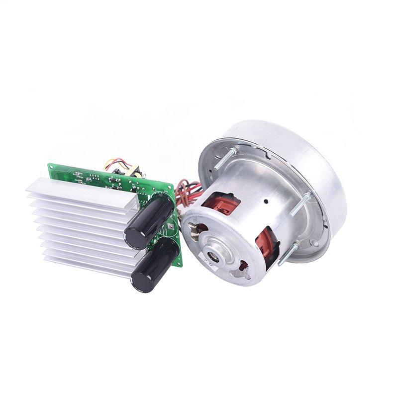 Brushless electric vacuum cleaner motor