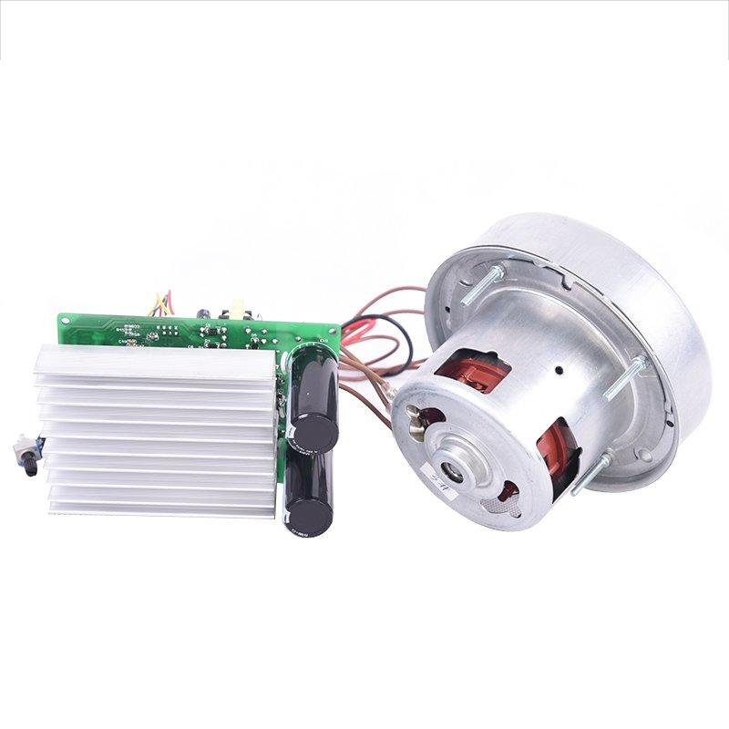 Brushless electric vacuum cleaner motor