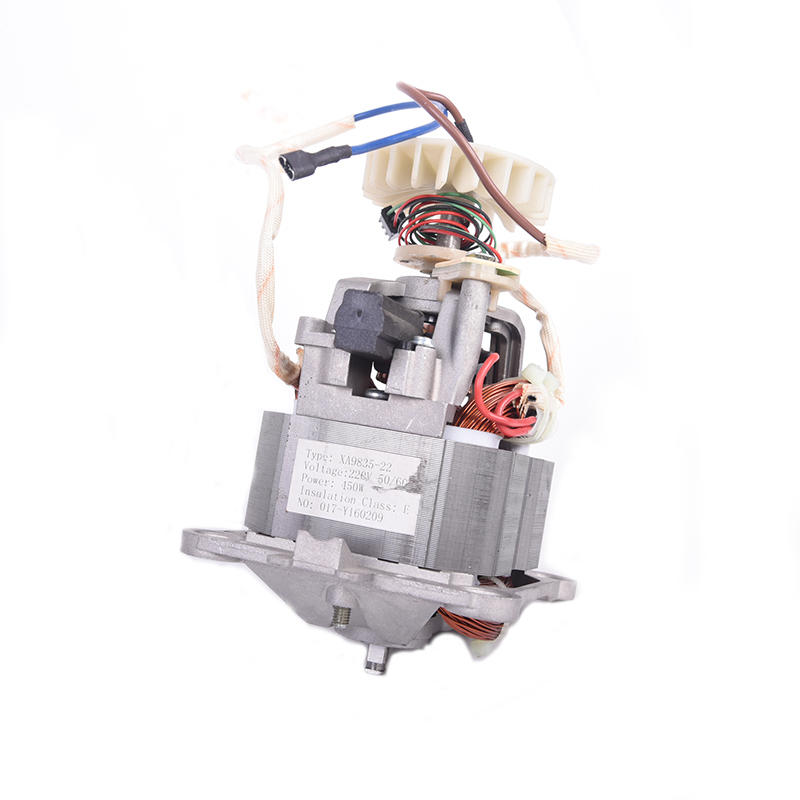 AC universal series motor XA9835 square shaft
